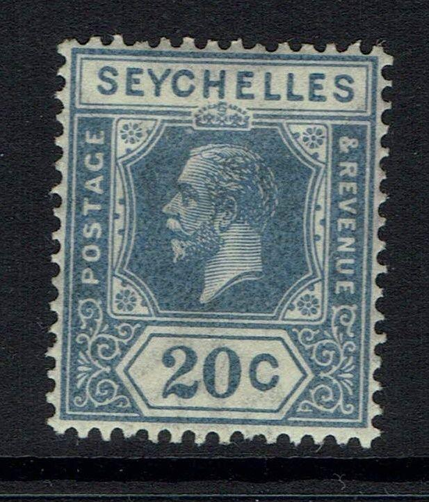 Seychelles SG# 113a, Mint Lightly Hinged, Light Crease - Lot 090416