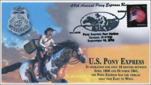 2015, 49th Annual Pony Express Run, Canann IN, Pictorial, 15-323