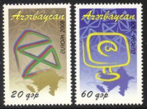 Azerbaijan Sc# 873-4 MNH Europa 2008