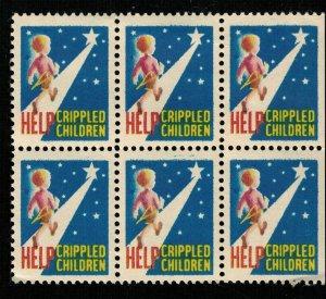 USA Help Crippled Children Block (TS-167)