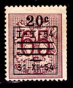 Belgium Scott 477 Mint No Gum pre cancel from 1954