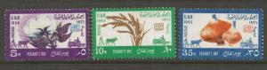 EGYPT  704-706  MINT HINGED, FARMER'S DAY