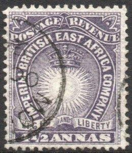 BRITISH EAST AFRICA-1891 4½d Dull Violet Sg 11 FINE USED V42931