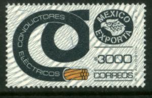 MEXICO Exporta 1503 $3000P Conductor Wmk Granite Paper 9 MNH