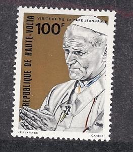 Burkina Faso(Upper Volta),529,Pope John Paul II,Single, MNH