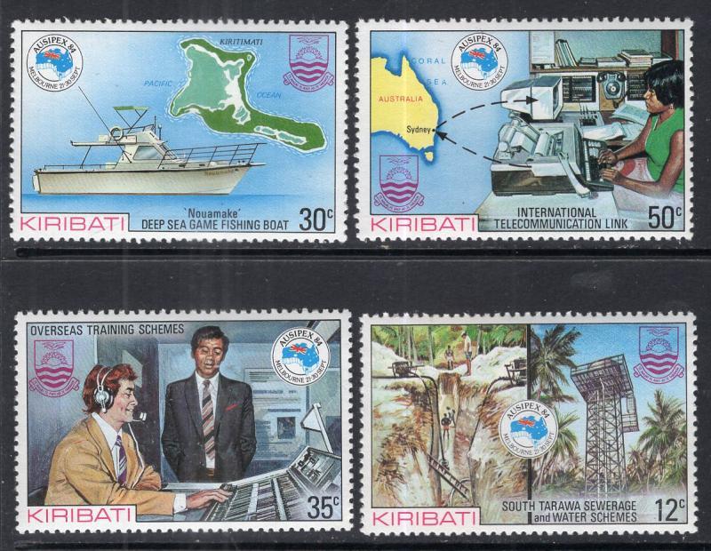 Kiribati MNH 444-7 Ausipex 1984