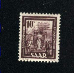 SAAR #204 Mint NH VF 1949-51  PD