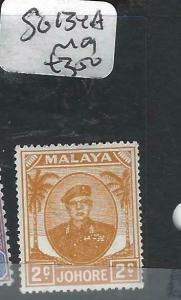 MALAYA  JOHORE  (PP0906B)  2C  SG 134A   MOG