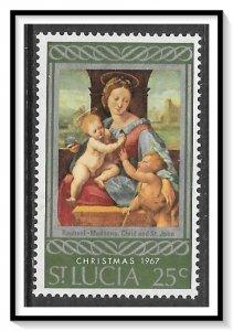 St Lucia #228 Christmas MNH