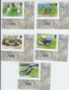 2012 Jersey Archaeology III - Dolmens Set 5 (Scott New) MNH