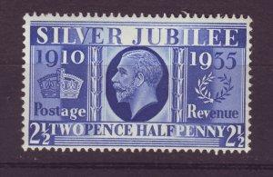 J24532 JLstamps 1935 great britain mnh #229 king