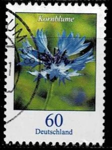 Germany 2019, Michel# 3468 used Flower; Cornflower - Centaurea cyanus