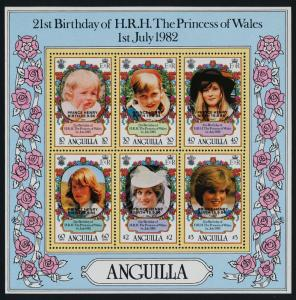Anguilla 639h MNH Princess Diana 21st Birthday, Prince Henry o/p