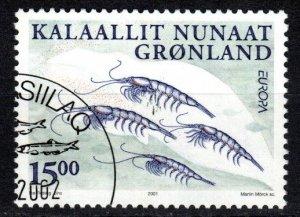 Greenland #386  F-VF  Used CV $4.75 (X5334)
