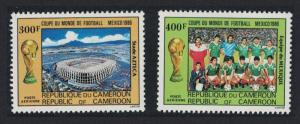 Cameroun World Cup Football Championship 2v CTO SG#1079-1080