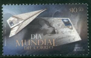 MEXICO 2639, $10.50P World Post Day. MINT, NH. VF..