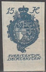 Liechtenstein #20  MNH  (K945)