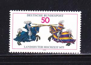 Germany 1167 Set MNH Knights Jousting