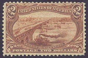 US Scott #293 Mint, F, HR