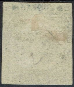 NEW SOUTH WALES 1850 SYDNEY VIEW 2D PLATE II EARLY IMPRESSION USED