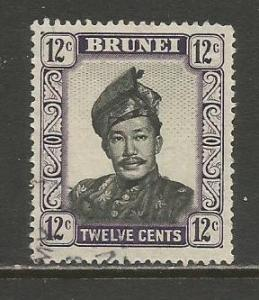 Brunei   #90  Used  (1952)