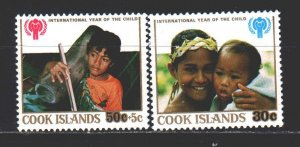 Cook Islands. 1979. 618-20 of the series. UNICEF, the children. MNH.