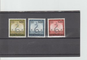 Portugal  Scott#  1008-1010  MNH  (1967 Symbols of Healing)