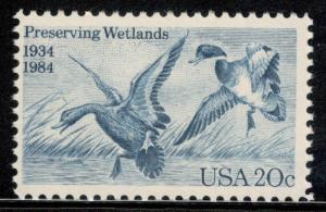 2092 Waterfowl Preservation Act US Single Postage Stamp Mint/nh (Free Shipping)