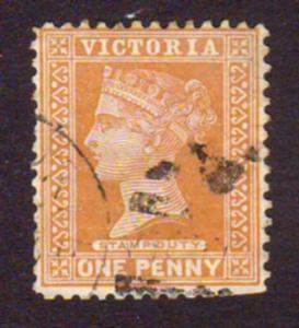 Australia Victoria 1891 Scott171 1d Brwn Queen Victoria