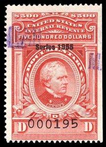 U.S. REV. DATED REDS R692  Used (ID # 94563)