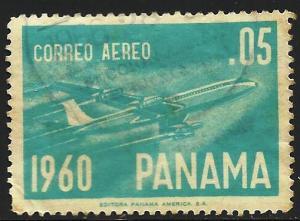 Panama Air Mail 1960 Scott# C240 Used
