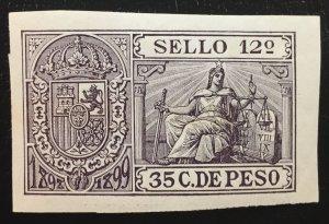 Philippines USA Admin Revenue 35 C. De Peso MNH