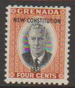 Grenada  George VI SG 188  Unmounted mint  - Constitution Opt