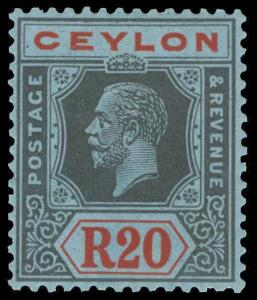 Ceylon Scott 225-244 Gibbons 338-357 Mint Set of Stamps