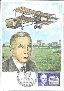 26294 - FRANCE  - POSTAL HISTORY - MAXIMUM CARD 1971 - AVIATION Farman