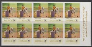AUSTRALIA SGSB476(4203b) 2014 EQUESTRIAN EVENTS BOOKLET MNH