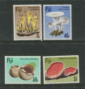 Fiji - Scott 500-504 - Flowers Issue -1984 -MNH - Set of 4 Stamps