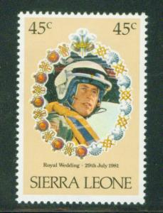 Sierra Leone Scott 511 MNH** 1981 Royal Wedding stamp