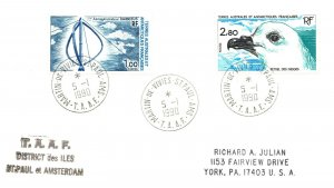 1990 French Southern & Antarctic Territory, Antarctic Cachet and/or Cancel  #106