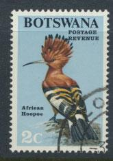 Botswana   SG 221 Used PO Cancel