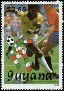 Guyana Scott #2221 Used  Football  Soccer