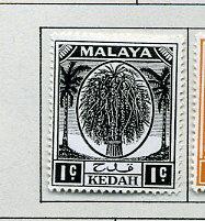 Malaya Kedah MLH Scott Cat. # 61