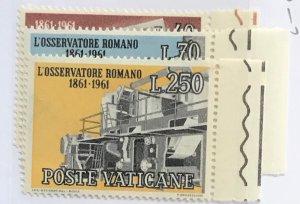 Vatican City #310-312 MNH CV$2.75 [51773]