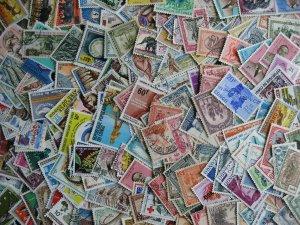 Congo (s) scrap pile (duplicates, mixed cond) estimate 300 stamps