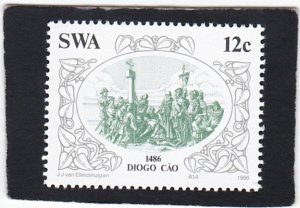 South West Africa,  #   552    unused