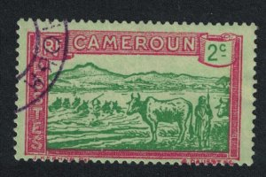 Cameroun Cattle fording River 2c SG#69