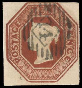 Great Britain Scott 6 Gibbons 57 Used Stamp