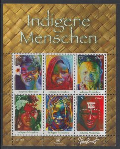 UN Vienna 480 Souvenir Sheet MNH VF