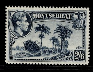 MONTSERRAT GVI SG109a, 2s 6d slate-blue, NH MINT. Cat £27. PERF 14