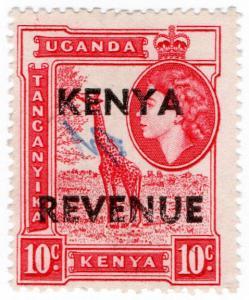 (I.B) KUT Revenue : Kenya Duty 10c